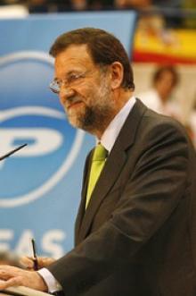"""MARIANO RAJOY.  """"Todas las reformas atienden sólo al interés general de España y de los españoles""""."""