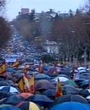Más de 1.400.000 personas contra la negociación con ETA
