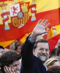 Rajoy convoca a dos millones de personas frente al chantaje de ETA.
