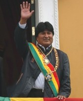 El nuevo y carísimo juguete de Evo Morales.